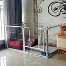 寵物圍欄寵物籠 室內小型犬中型犬金毛大型犬狗狗籠子小狗寵物兔子柵欄TW【快速出貨八折鉅惠】