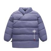 兒童裝冬季唐裝輕薄棉衣女寶寶漢服男童棉服外套