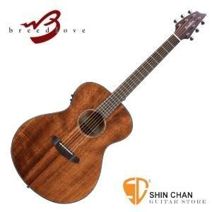 Breedlove Pursuit Concert 吉他 面單板/鑲貝電木吉他桃花心木  breedlove 吉他