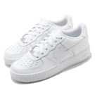 Nike 休閒鞋 Air Force 1 LE GS 白 全白 復古 運動鞋 女鞋 大童鞋 【ACS】 DH2920-111