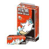 Benibear邦尼熊抽取式花紋衛生紙100抽84包/箱