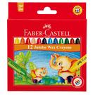 【奇奇文具】FABER-Castell 120040 大象粗芯蠟筆12色