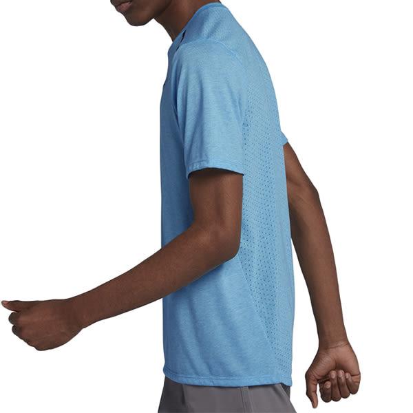 Nike Dri-Fit Rise 365 男 水藍 短袖 運動上衣 Dri-FIT 技術 乾爽 快乾 反光 Breathe 892814482