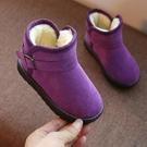 【快樂購】兒童雪靴女童短靴冬季寶寶加絨棉鞋男童靴子