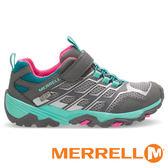 【MERRELL 美國 】MOAB FST LOW A/C WATERPROOF 童 防水 多功能健行鞋『灰/藍』57092 機能鞋