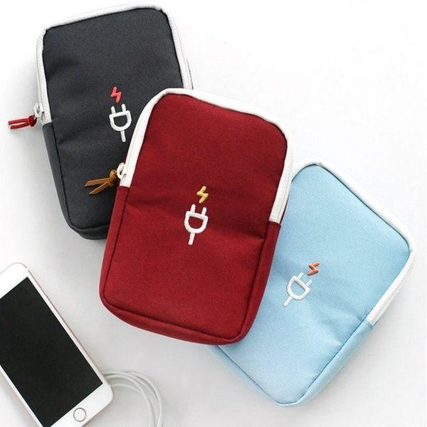《WEEKEIGHT》輕巧防震數位配件包/文具袋