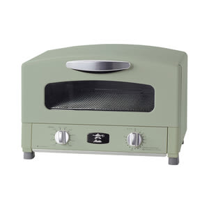 Sengoku Aladdin千石阿拉丁「專利0.2秒瞬熱」烤箱-綠