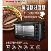 *元元家電館*SANLUX 台灣三洋30L 電烤箱 SK-30F