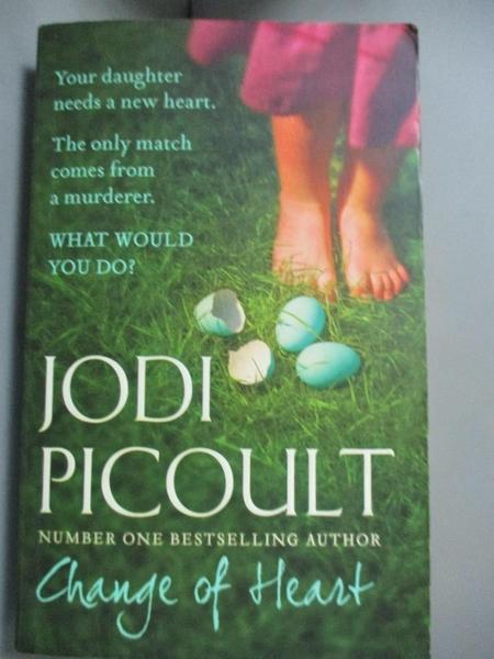 【書寶二手書T7/原文小說_MDE】Change of Heart_Jodi Picoult