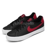 Nike 休閒鞋 Court Royale AC 黑 紅 男鞋 基本款 運動鞋【PUMP306】 BQ4222-004