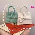 蝴蝶結包包2020春夏新款小眾設計蝴蝶結腰包可愛甜美手提側背斜背mini包包女 衣間迷你屋