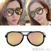 女士太陽眼鏡 墨鏡女潮2018新太陽眼鏡女士優雅眼鏡個性韓國女士 芭蕾朵朵