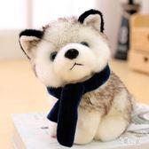 大號小型毛絨玩具 個性玩偶大型搞怪狗子二軟體哈30cm狗狗女孩禮物抱抱 CJ5876『易購3c館』