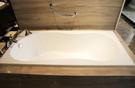 【麗室衛浴】美國 KOHLER BAIN-DOUCHE 壓克力浴缸160x75x43cm K-18233K-0