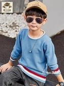 童裝男童毛衣新款洋氣春秋款針織衫韓版中大兒童套頭毛線衣潮 Korea時尚記