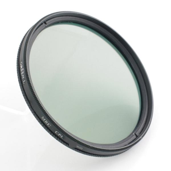 攝彩@格林爾Green.L CPL偏光鏡,37mm、40.5mm、43mm、46mm、49mm、52mm、55mm、58mm