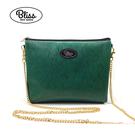 【限時促銷】Bliss BKK包 經典直條紋綠 可肩背 可手拿 泰國必買