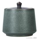 茶葉罐陶瓷茶具茶葉盒茶倉密封家用儲物罐普洱罐旅行存茶罐 樂活生活館