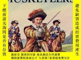 二手書博民逛書店Three罕見Musketeers (Ladybird Children s Classics) 英文原版-《三个