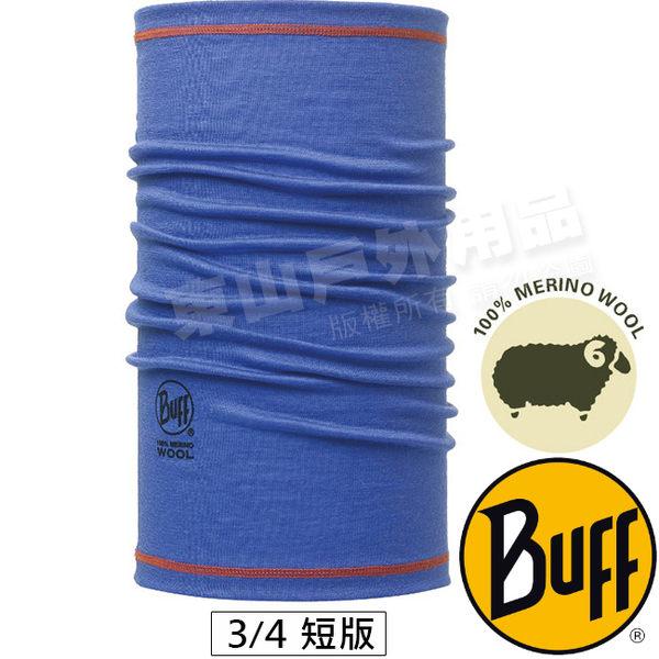 BUFF 111628.752 3/4 Wool保暖快乾魔術頭巾(素色) 美麗諾羊毛防臭領巾 東山戶外