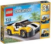 【LEGO 樂高積木】Creator 創意大師系列 - 高速黃色汽車 LT-31046