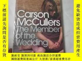 二手書博民逛書店The罕見member of the weddingY20677