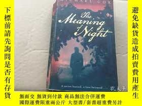 二手書博民逛書店夜的含義 The罕見Meaning of the NightY8