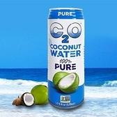 (62贈10罐) 美國C2O純淨椰子水520ml 共72罐/六箱