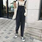 韓國女裝【C0459】大口袋牛仔吊帶褲 ...