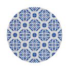 自然風陶瓷鍋墊-花磚萬花筒