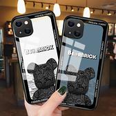 潮牌暴力熊IPhone 13手機殼 個性創意iPhone13 Pro Max保護殼 日韓全包蘋果13 Pro手機套 蘋果13 mini保護套