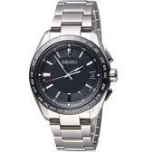SEIKO精工BRIGHTZ鈦金屬太陽能電波腕錶 7B27-0AC0D SAGZ091J 灰黑
