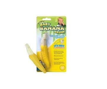 **小饅頭**BABY BANANA BRUSH 香蕉安全牙刷 (BR001)