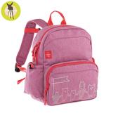 德國Lassig-兒童塗鴨風後背包-粉色