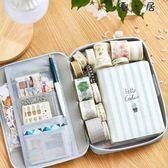 韓版帆布筆袋簡約大容量鉛筆袋多功能文具盒
