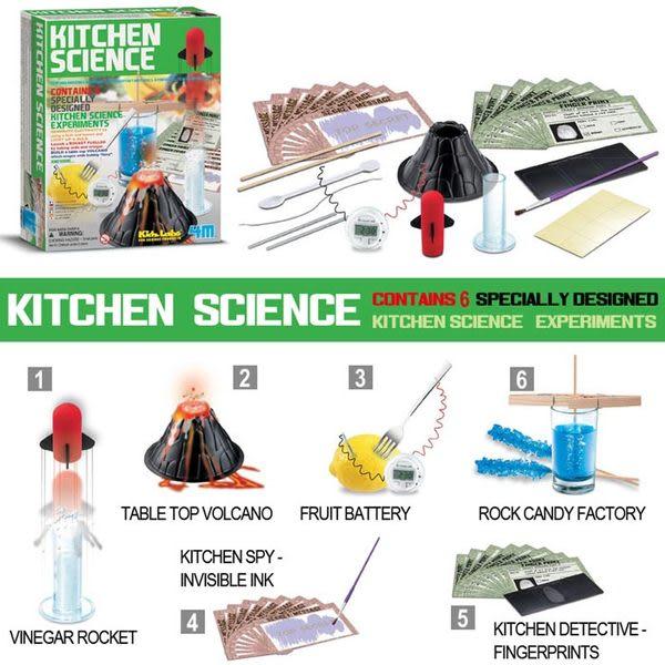 《4M》Kitchen Science趣味廚房科學