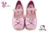 Hello kitty 真皮娃娃鞋 歐風珠光公主鞋 花童 表演 C2436#粉紅◆OSOME奧森鞋業