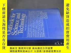 二手書博民逛書店outlook罕見for science and technol