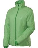 Haglofs BARRIER III Q JACKET 女款化纖保暖外套 2G3 開心綠