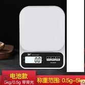 廚房秤電子稱烘焙精準家用0.1g高精度小秤