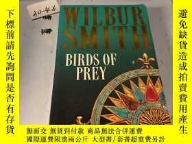 二手書博民逛書店英文原版:WILBUR罕見SMITH BIRDS OF PREY