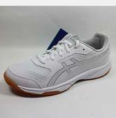 ASICS 亞瑟士 UPCOURT 2 排球鞋 室內運動鞋 白色 男女款 B705Y-0193 B755Y-0193[=]