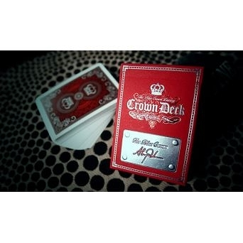 【USPCC 撲克】Luxury Crown Deck (頂級皇冠) 撲克牌-絕版 紅