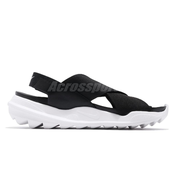 Nike 涼拖鞋 Wmns Praktisk 黑 白 繃帶 涼鞋 女鞋 夏日穿搭 【ACS】 AO2722-002