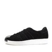 Adidas Superstar 80S Metal Toe W [S75056] 女鞋 休閒 經典 黑 銀 愛迪達