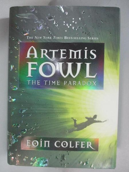 【書寶二手書T1/原文小說_AN4】The Time Paradox_Eoin Colfer