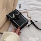 手機包復古小包包女2020新款潮韓版百搭斜背包秋冬鍊條側背包時尚手機包 萊俐亞