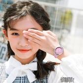 兒童女童手表小學生可愛女孩卡通公主大童防水電子10-12歲初中生 街頭布衣