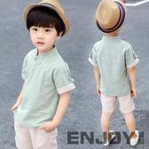 男童唐裝復古兒童漢服古裝夏季中國風民國童裝中式男寶寶棉麻套裝