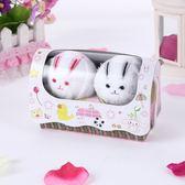 創意小毛巾-可愛動物造型紀念品生日母親節禮物兔子手帕4款73ja4[時尚巴黎]
